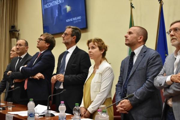 #INCONTriamoci presentata al Ministero della Salute la campagna di sensibilizzazione FAIS sulla incontinenza. Presente il ministro Grillo.