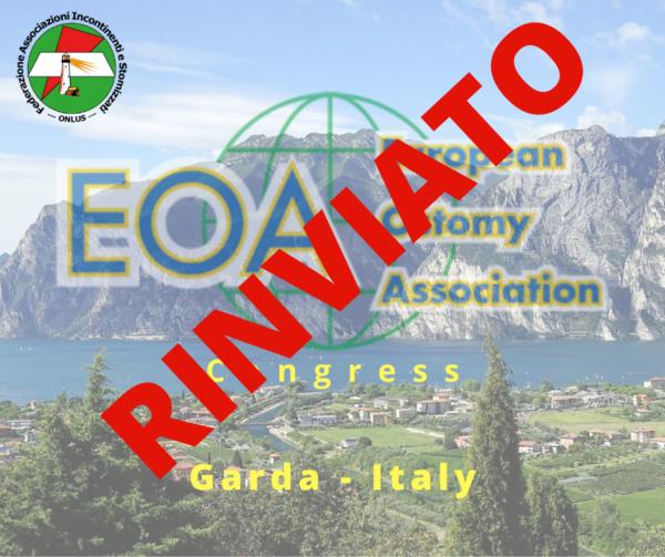 Rinviato il congresso EOA in programma dal 15 al 19 aprile 2020 a Garda.